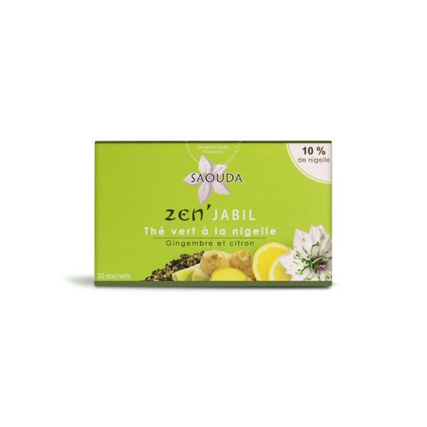 tisane thé vert de Ceylan