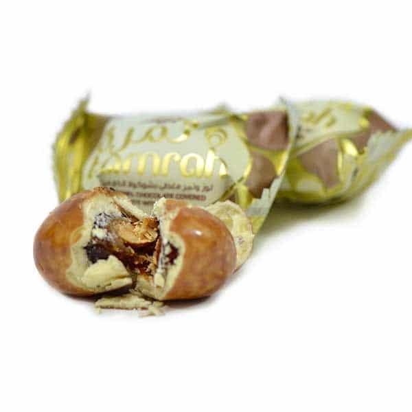 dattes aux amandes enrobées de caramel 2