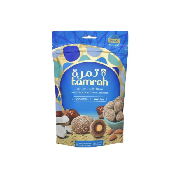 dattes enrobées chocolat & noix de coco - tamrah 1