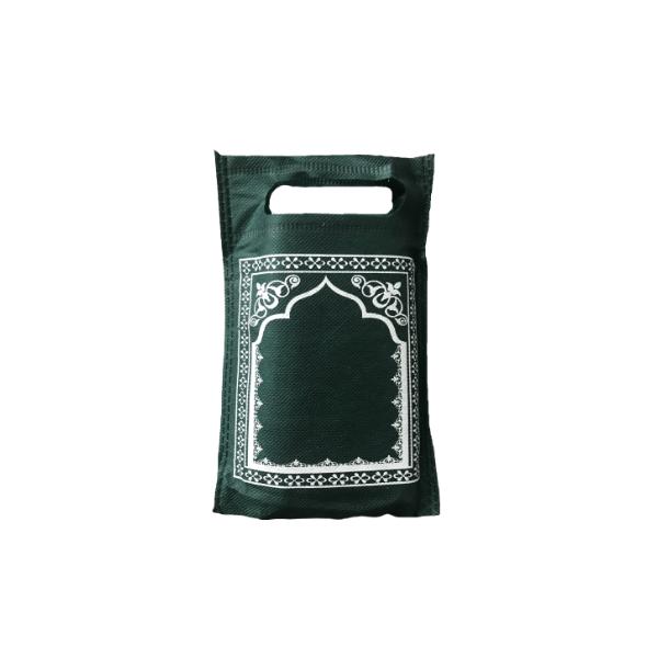 Tapis de prière de poche - couleur vert