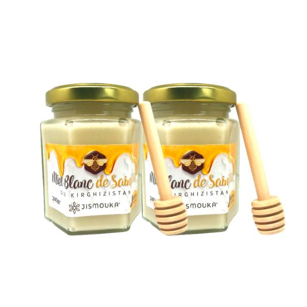 miel blanc du Kirghizistan