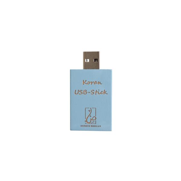 Clé USB avec Saint Coran bleu 2