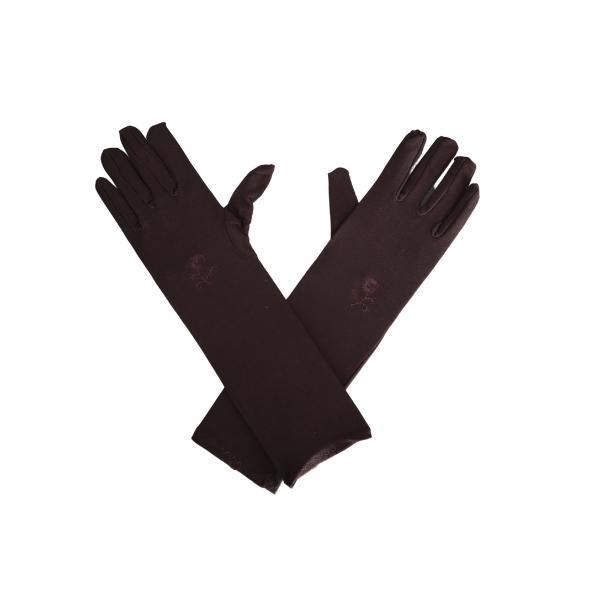 Paire de gants marrons pour femme
