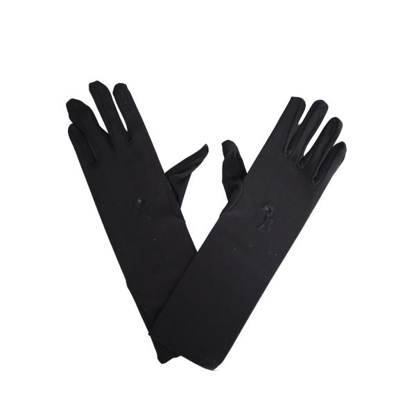 Paire de gants noir femme