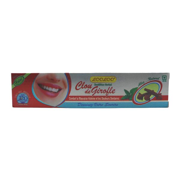 dentifrice aux clous de girofle