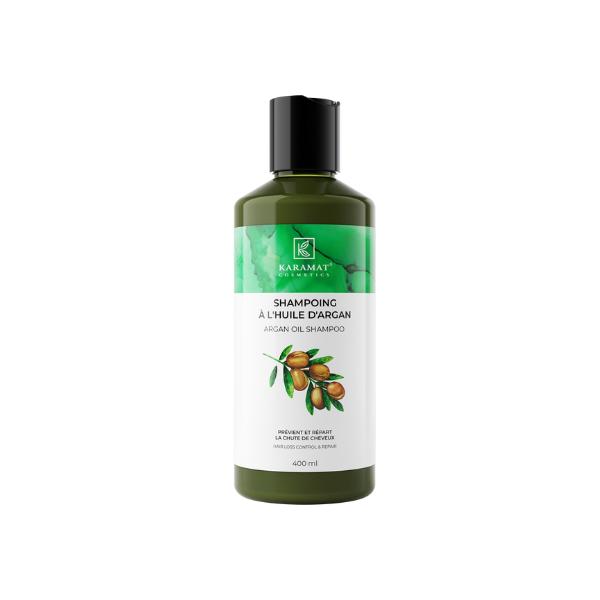 Shampoing à l'huile d'argan 400ml