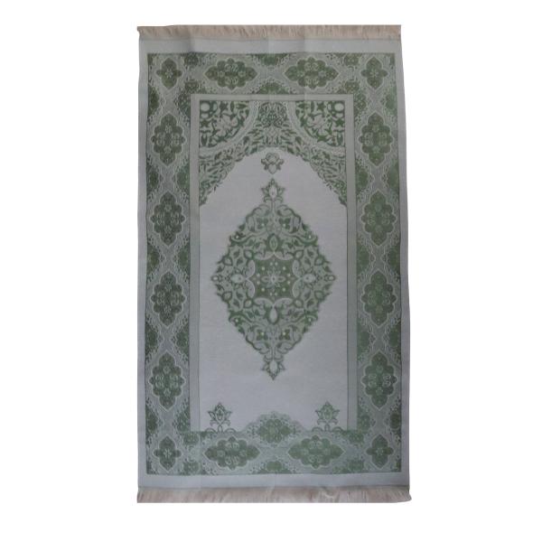 tapis de prière classe vert