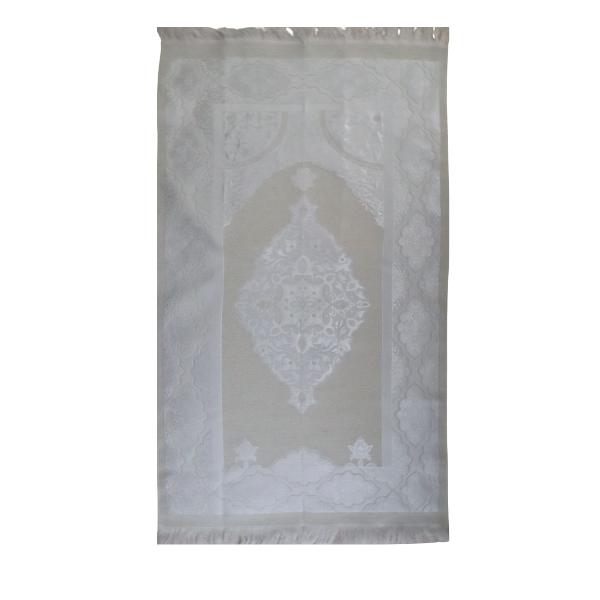 tapis de prière classe blanc