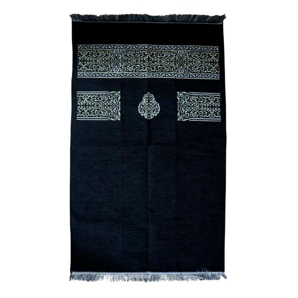 Tapis de prière black Kiswa design