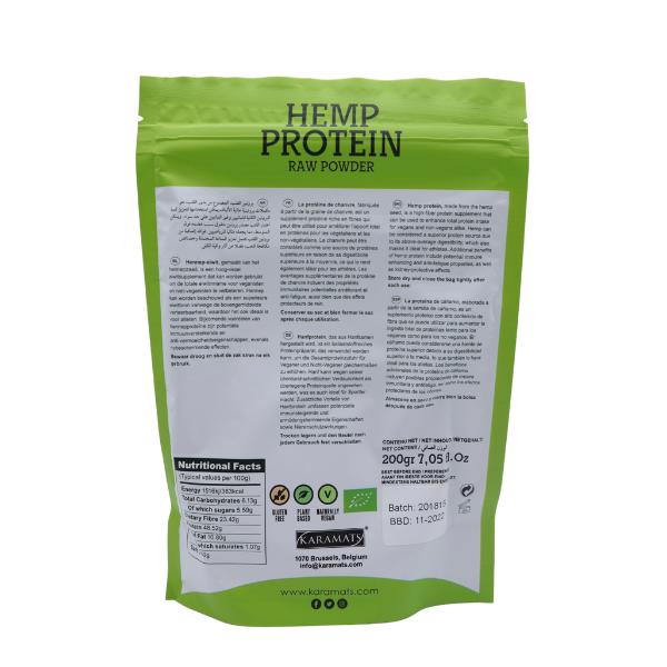 Protéines de chanvre 200gr 2